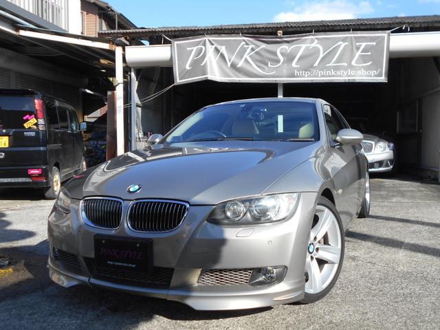 BMW 3シリーズ 335i 直6ターボ 7速DTC 社外フロントリップ 地デジ ベージュレザー シートヒーター 電動リアサンシェード ドラレコ