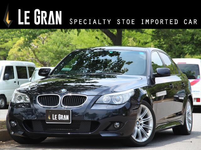 BMW 525i Mスポーツパッケージ ナビ ハーフレザー ETC