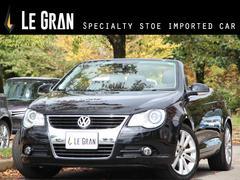 VW イオス2.0T 社外ナビTV サンルーフ 黒革 ETC