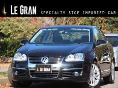 VW ジェッタ2.0T 社外ナビTV 黒革 HID シートヒータ