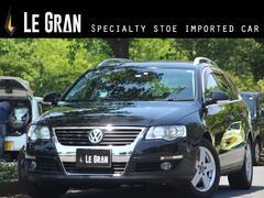 VW パサートヴァリアント2.0T 社外ナビ 黒革 ETC シートヒーター