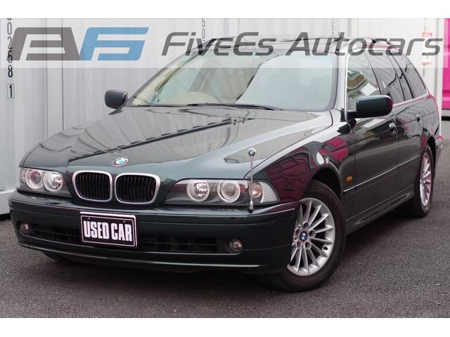 BMW 525iツーリング  ベージュレザー サンルーフ 記録簿
