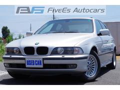BMW528i サンルーフ ナビ  中期M52 純正16AW