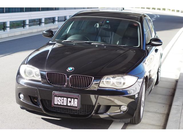 BMW 130i Mスポーツ 6速MT 黒革 記録簿 OP18AW