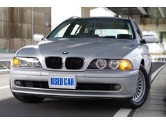 BMW525iツーリングハイライン ワンオーナー 記録簿 黒革
