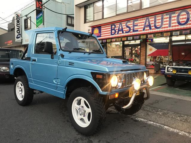 スズキ CC 4WD 5MT 社外AW ビキニトップ 社外マフラー