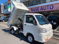 ハイゼットトラックダンプ 4WD AC 5MT 修復歴無 ワンオーナー ETC