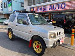 ジムニーXA 4WD 5MT フォグランプ ルーフキャリア アルミホイール
