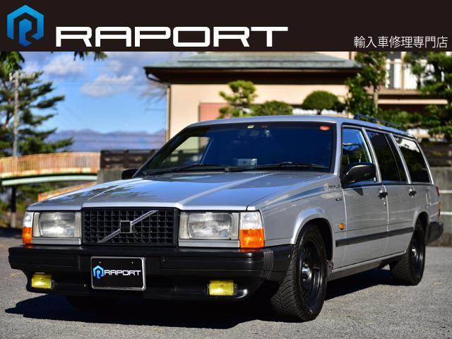 ボルボ 740ターボエステート限定車ターボプラス SR ショック交換