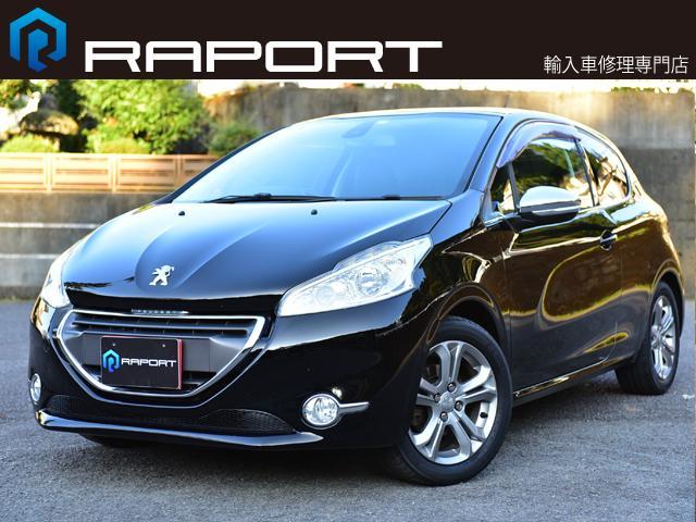 プジョー 208 アリュール 5速マニュアル タイヤ新品 Bluetoothナビ ETC 冬タイヤ&アルミセット付