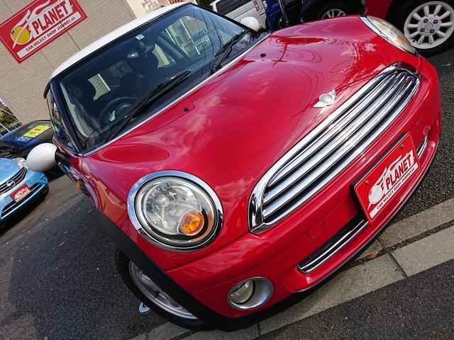 MINI クーパー 全塗装済み ワンオーナーで取説・記録簿付き 車検整備付き