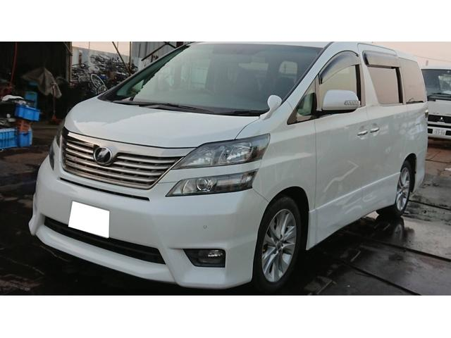 トヨタ 3.5Z プラチナムセレクション 後席モニタ サンルーフ