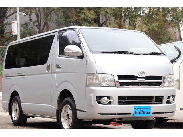 トヨタ スーパーGL 軽油ターボ 4WD HDDナビ Wエアバッグ