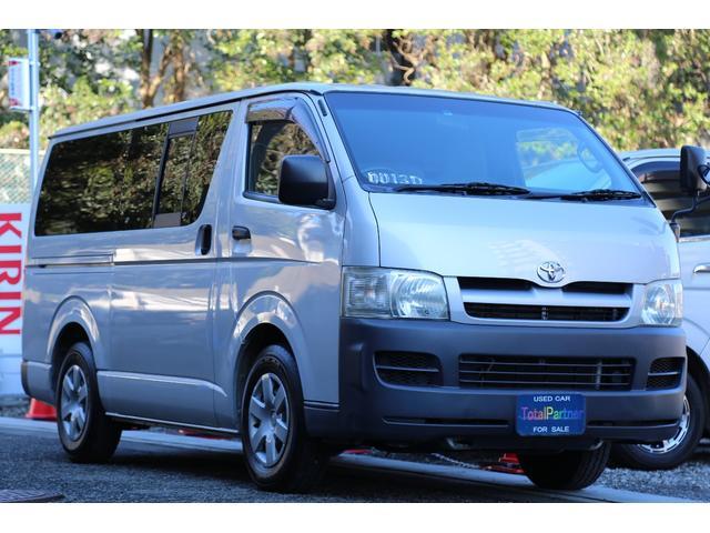 トヨタ ロングDX 軽油ターボ 5ドア リアヒーター HDDナビ