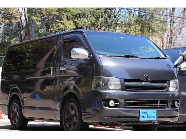 トヨタ スーパーGL 軽油ターボ WAC 社外ナビ Bカメラ ETC