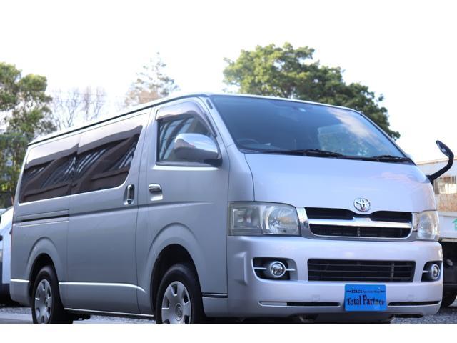 トヨタ スーパーGL 軽油ターボ 4WD WAC ETC Bカメラ
