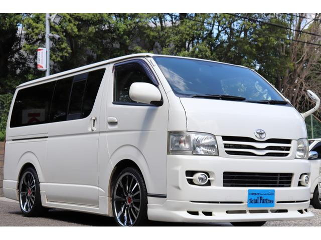 トヨタ スーパーGL 軽油ターボ 4WD Wエアコン ETC ナビ