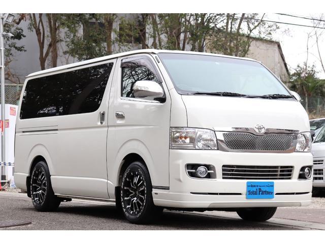 トヨタ スーパーGL 軽油ターボ 4WD WAC 社外アルミ&パーツ
