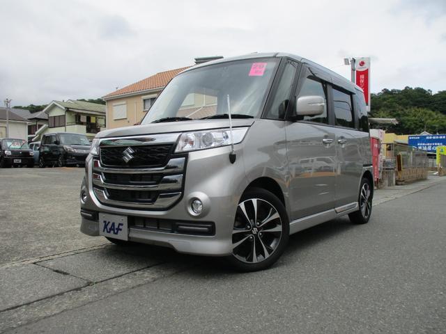 「スズキ」「スペーシアカスタムZ」「コンパクトカー」「神奈川県」の中古車