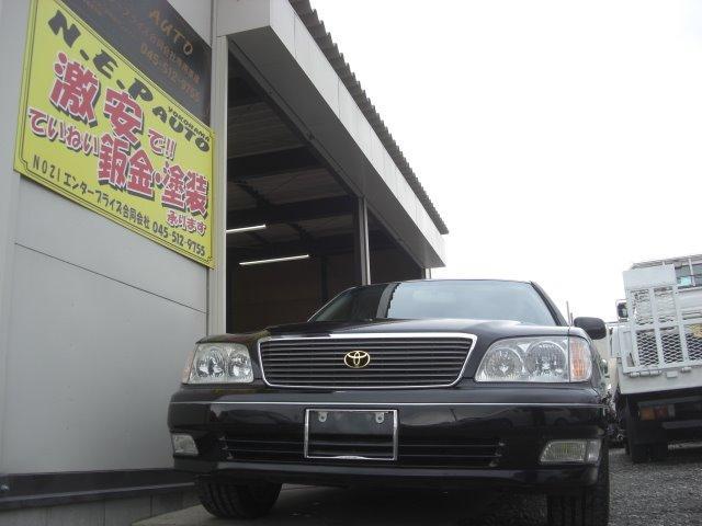 トヨタ セルシオ C仕様 タイミングベルト交換済 第2無期限保証 純正ナビ
