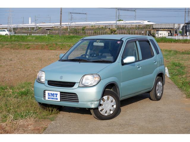 スズキ Kei A 後期型 4速AT SDナビ CD ETC 車検令和5年7月