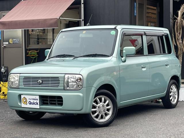 スズキ X ユーザー買取車/タイミングチェーン/純正アルミ/フルセグ/キーレス