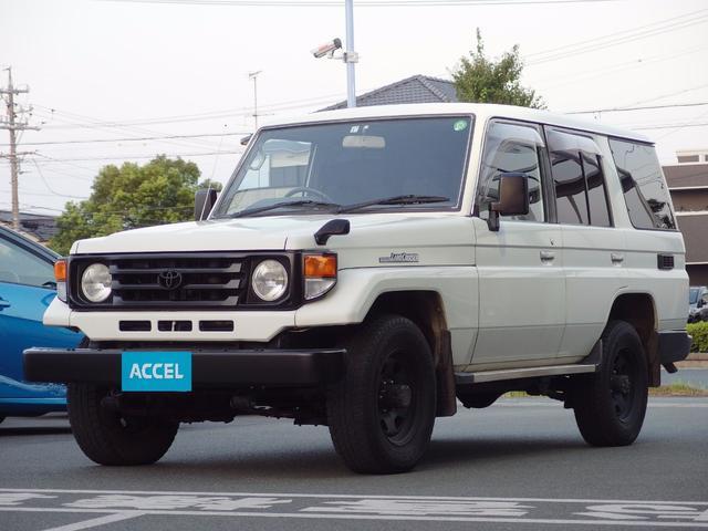 トヨタ LX HZJ77V 4ナンバ SR レカロ 寒冷地仕様 5速