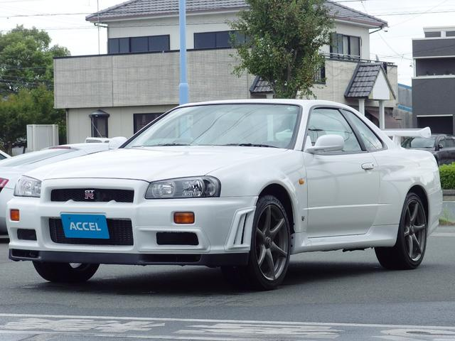日産 GT-R BNR34 1オーナー 禁煙車 ニスモGTテール