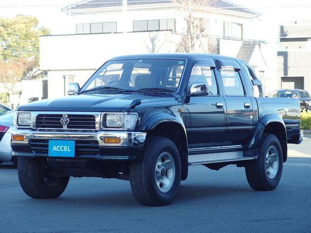 トヨタ Wキャブ SSR-Xワイド LN112 Dターボ 4WD