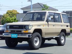 ランドクルーザープラドSXワイド リフトアップ ディーゼルターボ 4WD 8人乗