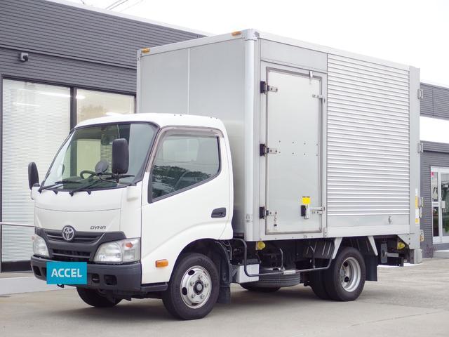 トヨタ アルミバン 積載2t パワーゲート サイドドア付き