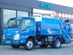 エルフトラックフジマイティ パッカー車 LP481 積載2t 4.4立米