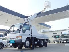 エルフトラック自走式高所作業車 新明和APM099−52F 作業床9.9m