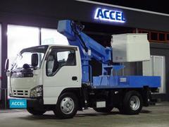 エルフトラック高所作業車 アイチ SS10A 作業床高9.7m FRP