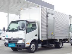 ダイナトラックアルミバン スライドリフト 積載2t サイドドア Bカメラ