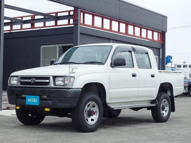 トヨタ Wキャブ LN167 4WD 5MT ディーゼル 4ナンバー
