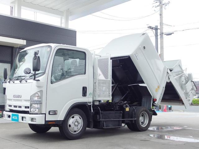 いすゞ 積載2t 3.8立米 パッカー車 塵芥車 回転板式 新明和