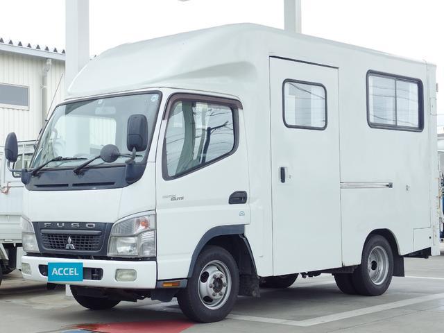 三菱ふそう ウォークスルーバン パワーゲート 4WD 冷蔵器付き積載1t