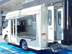 キャンター移動販売車ベース1ナンバー Dターボ5速 NOx・PM適合車