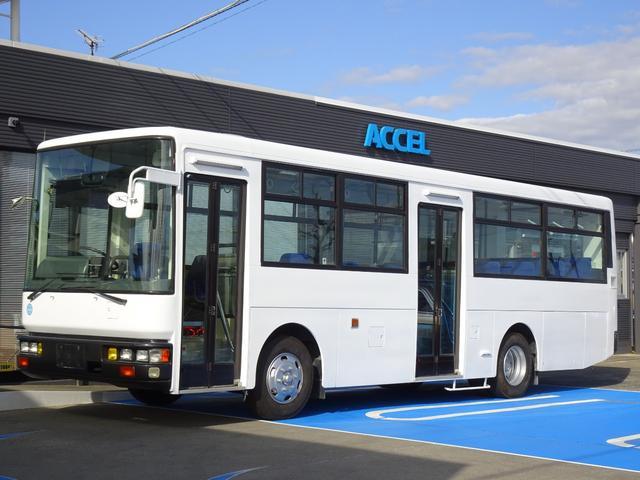 日産ディーゼル 路線バス仕様 57人乗り 前・中自動折り戸 ツーステップ