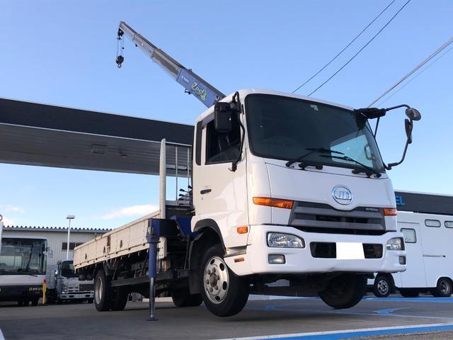 UDトラックス タダノ 4段クレーン ZE304 2.93t 荷台鉄板張り