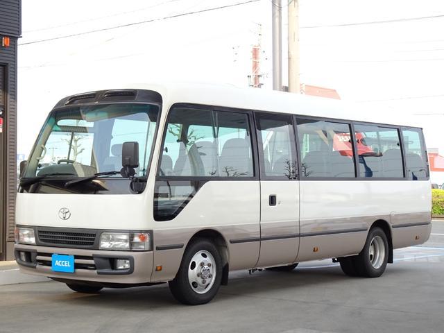 トヨタ ロングGX ターボ 29人乗り 自動ドア NOx・PM適合