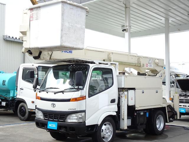 トヨタ 高所作業車 14.6m アイチU594 電工仕様 ウインチ