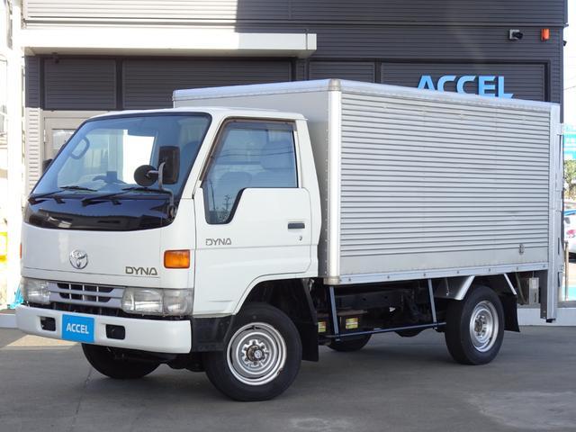 トヨタ ダイナトラック  LY161 4WD 5MT アルミバン リアパワーゲート付き ゲート最大昇降荷重600Kg 積載1,200Kg 車輌総重量3,505Kg 荷台サイズ:長さ294cm×幅153cm×高さ134cm