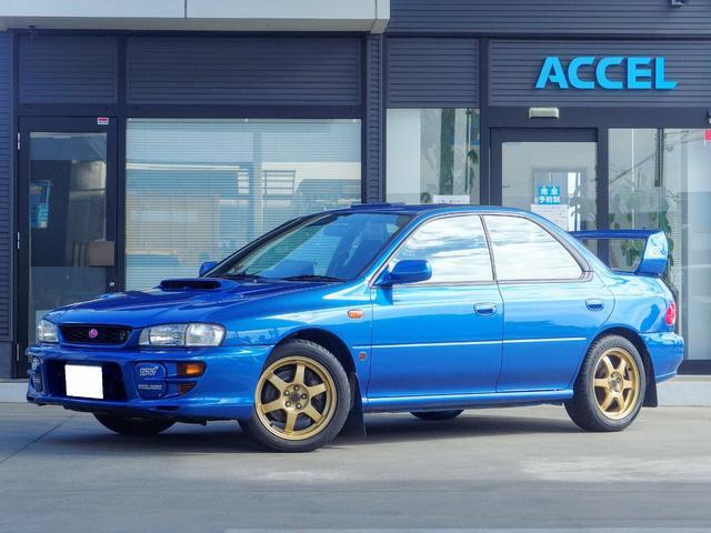 スバル WRX RA STiバージョンVI リミテッド GC8 最終G型 限定車 ルーフベンチレーター DCCD タイベル交換済み EJ20 ターボ 機関ノーマル車輌