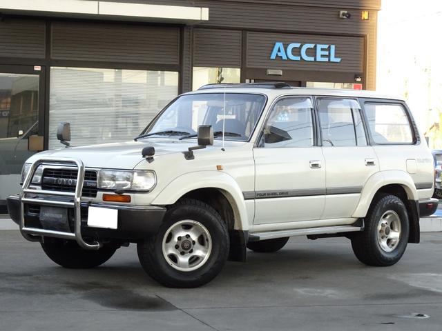 トヨタ ランドクルーザー80 VX 中期型 HDJ81V ワンオーナー 1HD-T ディーゼルターボ 5MT 4WD 純正ウインチ フェンダーミラー EGR無し NOx・PM非適合