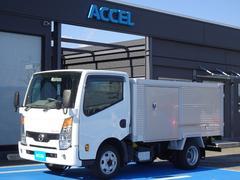 アトラストラック 4WD 北村製作所 アルミバン 荷台左スライドドア 5MT・3ペダル ディーゼルターボ 4ナンバー 荷台長さ297cm・幅157cm・高さ109cm 荷台床面地上高82cm NOx・PM適合