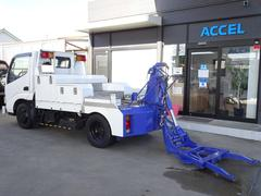 ダイナトラック レッカー車 アンダーリフト アタッチメント付き 吊り上げ能力1,200Kg 5MT・3ペダル インジェクタ一式交換済み NOx・PM適合