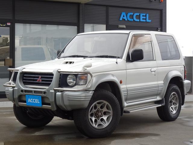 三菱 パジェロ ワイド XR-II V26WG ショートボディ 5MT 4WD 4M40エンジン ディーゼルターボ タイヤ4本新品交換済み 5人乗り NOx・PM非適合