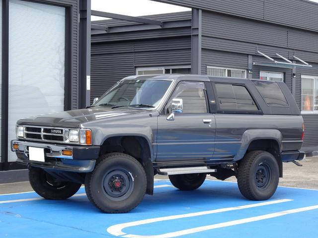 トヨタ SSRリミテッド YN61G ブリハイ AT車 5ナンバー 3Yエンジン ガソリン車 リフトアップ 取説 記録簿有り